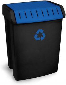 TATAY Cubo de basura papel carton capacidad para 50 litros,